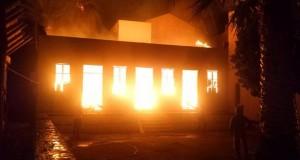 πυρκαγιά αποθήκη
